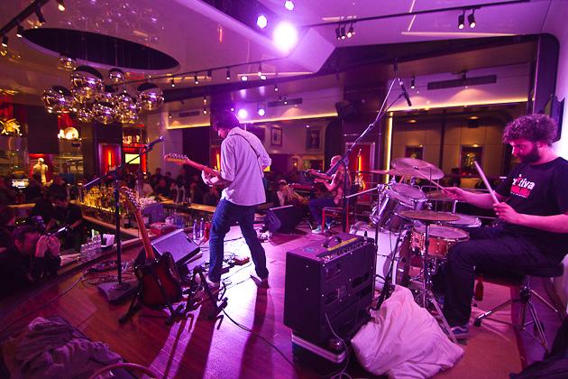 Concierto Murnau b en el Hard Rock Café de Barcelona. Photos by Frederic Navarro Cifani
