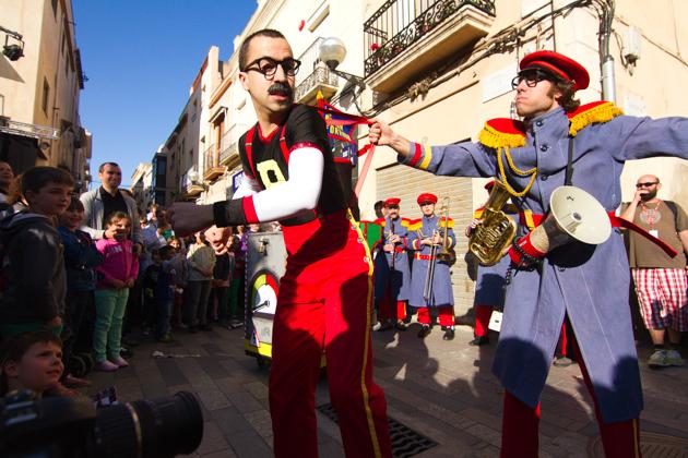 Banda Forania a la Fira de Música al Carrer de Vila-seca 2012. Photos by Frederic Navarro