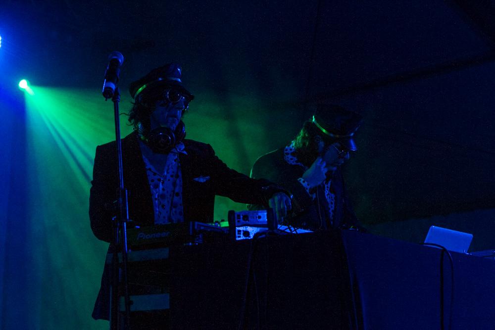 Dj Ogt & Dj Panko en Fira de Musica al Carrer de Vila-seca. Photos by Frederic Navarro