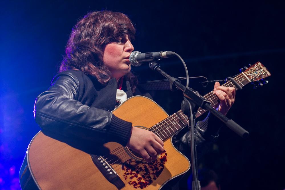 Joana Serrat en Fira de Musica al Carrer de Vila-seca. Photos by Frederic Navarro