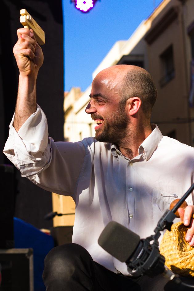 Orchestra Fireluche a la Fira de Música al Carrer de Vila-seca 2012. Photos by Frederic Navarro