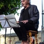 Pau Riba i Pascal Comelade en Fira de Musica al Carrer de Vila-seca. Photos by Frederic Navarro