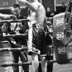 Velada de Boxeo en el pabellón del Buen Pastor